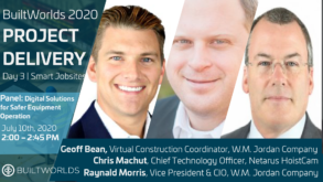 Netarus and W.M. Jordan reality capture in construction
