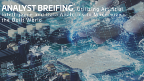 Utilizing Artificial Intelligence and Data Analytics to Modernize the Built World